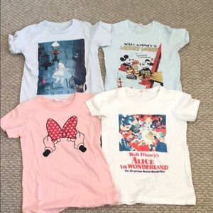 Disney Uniqlo shirts